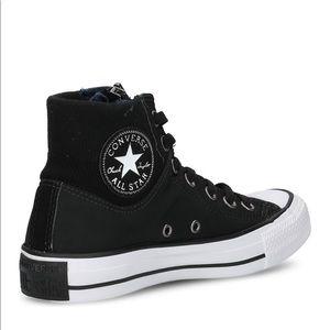 Converse CT MA-1 Zip Hi Sneaker Black 9 Men, 11 W